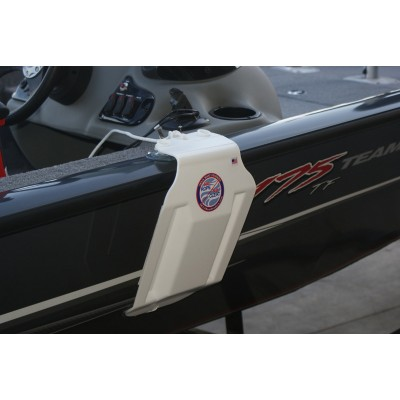 Aluminum Bass Boat Fender - Small shown on a 175 Tracker boat